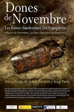 Women of November. The clandestine graves of Francoism