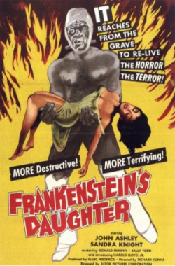 Frankenstein's daughter, or, She monster of the night