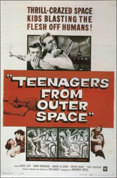 Teenagers from outer space, or, The Gargon terror