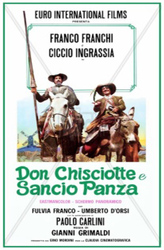 The adventures and misadventures of Don Quixote and Sancho Panza