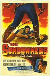 The Sundowners, or, Thunder in the dust