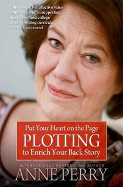 Anne Perry: plotting to enrich your back story