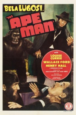 The ape man, or, They creep in the dark